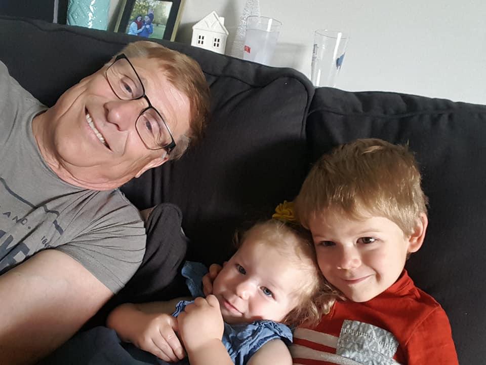 Grandkids selfie